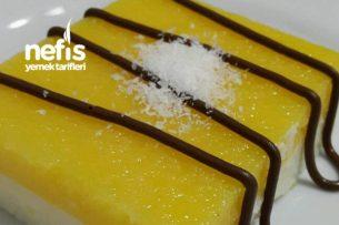 Portakallı Vanilyalı İrmik Tatlısı Tarifi