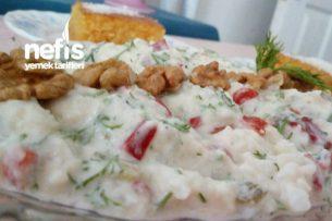 Pratik Yoğurtlu Karnabahar Salatası Tarifi