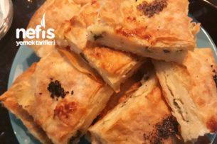 Sodalı Kabaran Peynirli Böreğim Tarifi