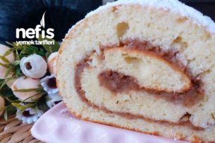 Yumuşacık Elmalı Rulo Pasta (Çok Pratik Ve Çok Lezzetli) Tarifi