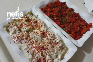 Köz Patlıcan Biber Salataları Tarifi