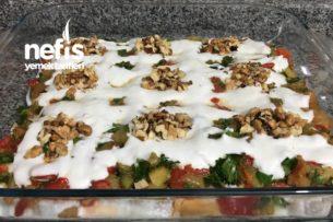 Köz Patlıcanlı Biberli Etimek Tarifi
