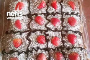 Meyveli Bisküvi Pasta Tarifi