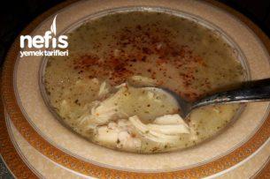 Tavuk Terbiyeli Çorba (Hasta Çorbası) Tarifi