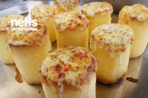Tek Başına Ana Yemek Olan Fondan Patates Tarifi