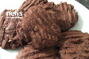 Yulaf Kakao Ve Parça Çikolatalı Kurabiye Tarifi