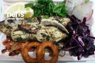 Fırında Balık (Uskumru Fileto Kullandım) Tarifi