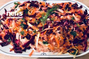 Kış Salatası Vitamin Deposu Tarifi