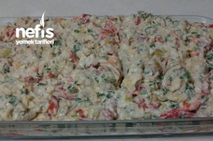 Köz Patlıcan Salatası Tarifi