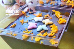 Muhteşem Kıvamıyla Portakallı Çikolatalı Puding Tarifi