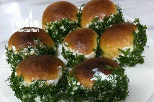 Saçaklı Poğaça (Mini Sandviç) Tarifi