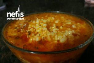 Domatesli Bulgur Çorbası  1 2 Yaş İçin Tarifi