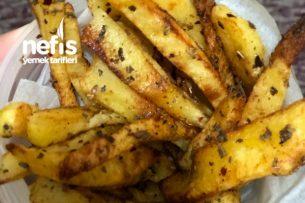 Fırında Dilim Patates Tarifi