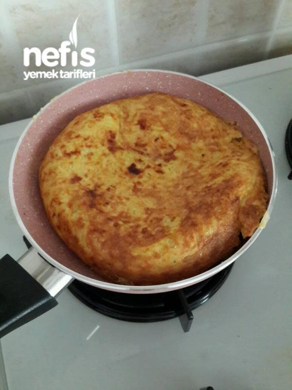 Kaşarlı altin gibi kizarmis Patates Tava(şipşak Hazır 10 Dk Da)