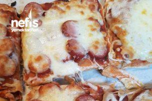 Mini kardeş Pizza Tarifi