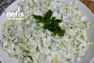 Tavuklu Göbek Salata (Mutlaka Deneyin ) Tarifi