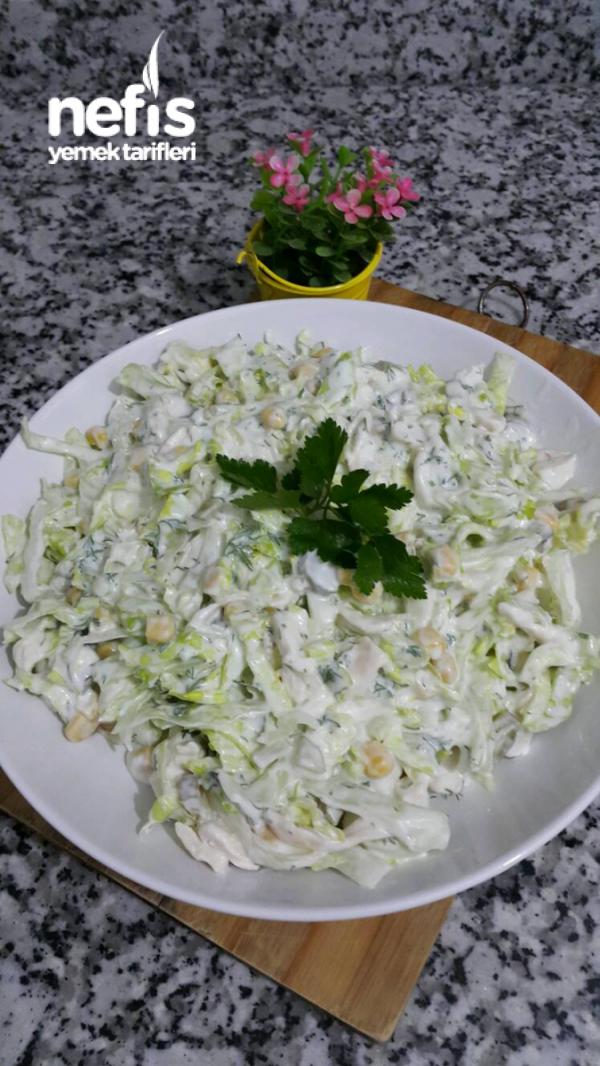 Tavuklu Göbek Salata (mutlaka Deneyin )