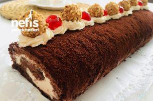 Çikolatalı Rulo Pastası ( 10 Dakikada) Tarifi