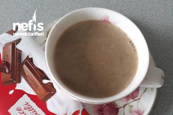 Çocuklara Sütlü Kahve Tarifi