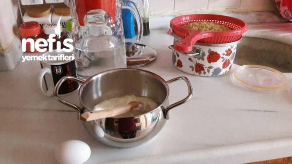 Dövmeli (yarmalı) Yoğurt Çorbasi Anne Tarifi