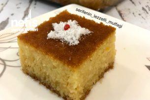 Dünyanın En Kolay Tatlısı Portakallı Revani Tarifi