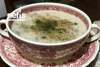 Gerçek Kremalı Mantar Çorbası Tarifi