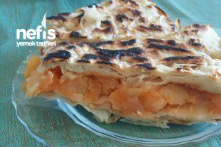 Kuru Yufkalı Patatesli Tava Böreği Tarifi