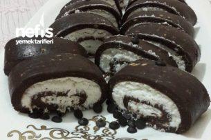 Pişmeyen Rulo Pasta (Hem Pratik Hem Ekonomik) Tarifi