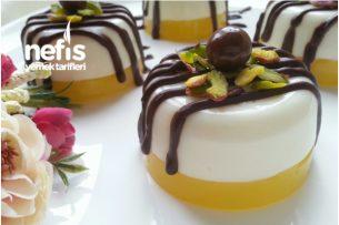 Portakallı Sütlü Tatlı (Çok Hafif Ve Lezzetli) Tarifi