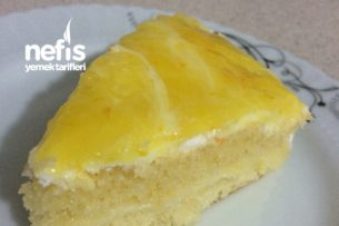 Portakallı Yaş Pasta Tarifi