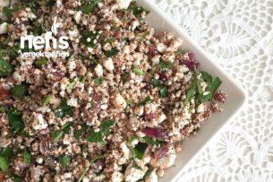 Sağlıklı ve Doyurucu Kahvaltılık Lor Peynirli Salata Tarifi