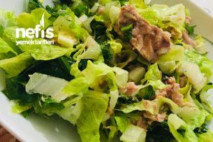 Ton Balıklı Marul Salatası (Süper) Tarifi