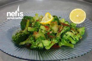 Zeytin Yağlı Brokoli Tarifi