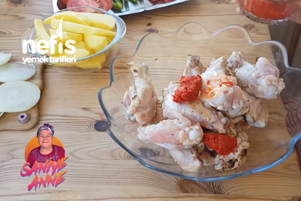 Fırında Tavuk Kanat (Videolu)