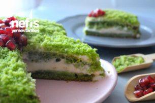 Ispanaklı Kek Pasta (Hiç Ispanak Kokusu Yok) Tarifi