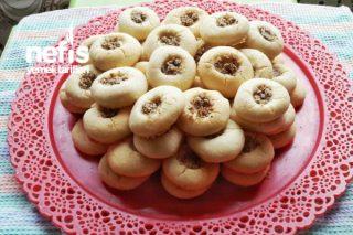 Pastane Usulü Ceviz Dolgulu Kurabiye Tarifi