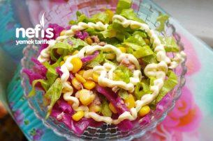 Şipşak Tonbalıklı Salata Tarifi