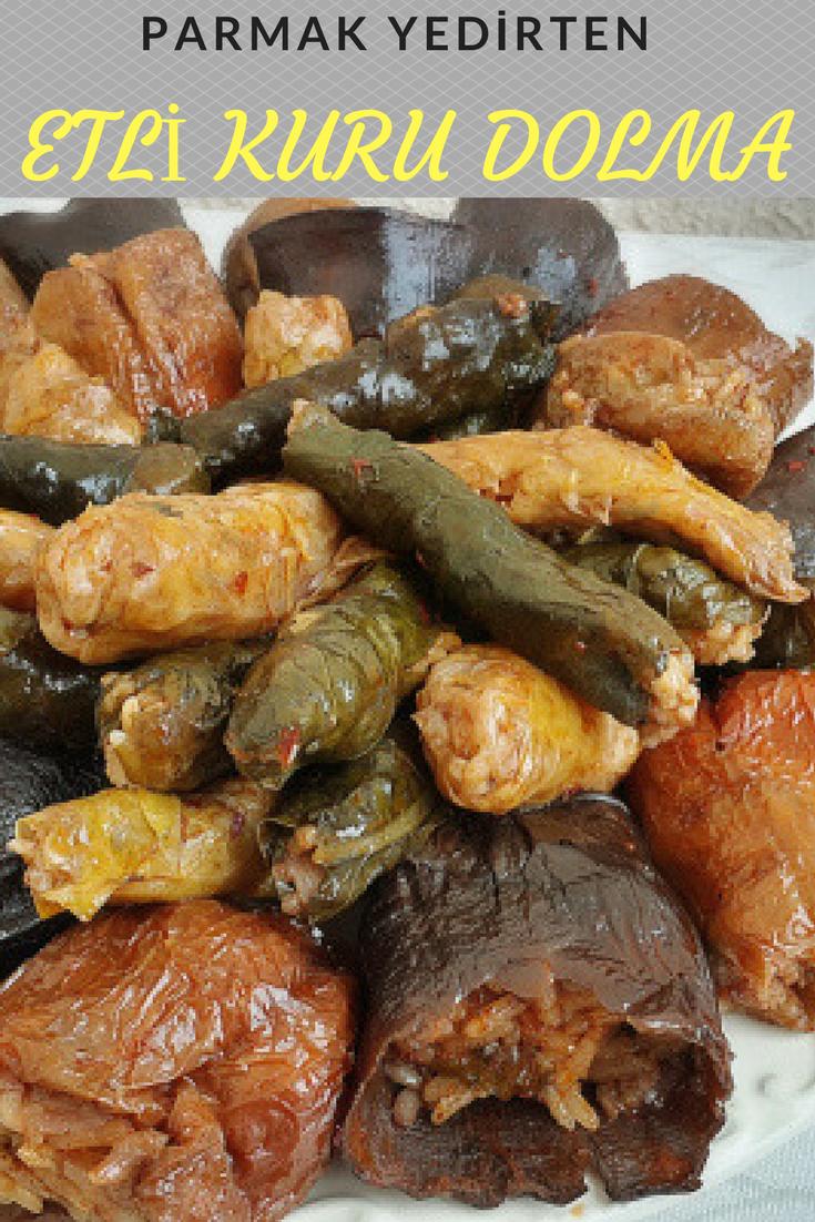 Etli Patlıcan Dolması Tarifi Videosu