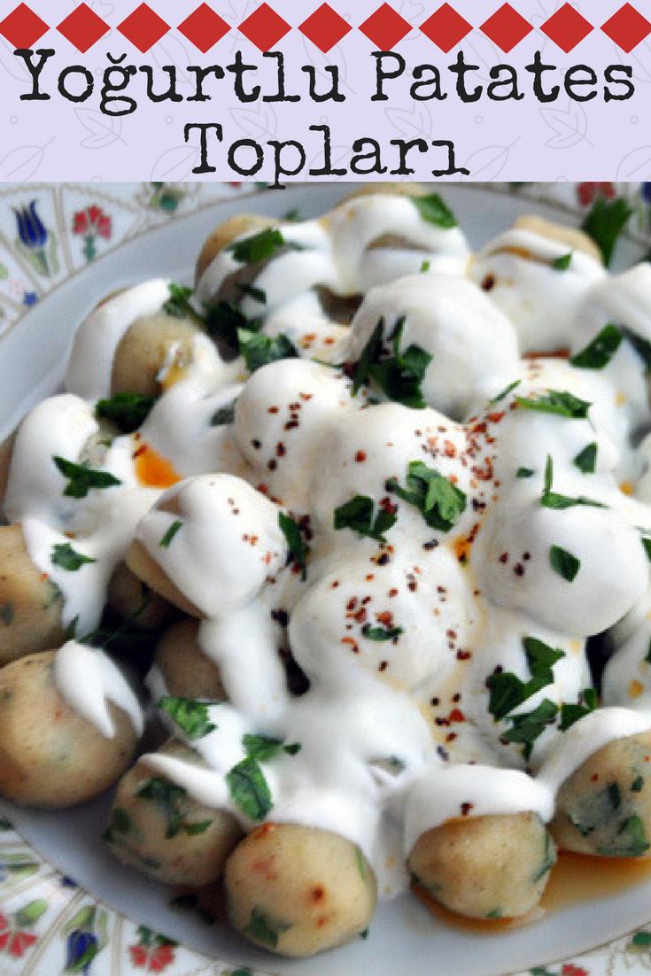 Değişik Yoğurtlu Patates Topları Tarifi
