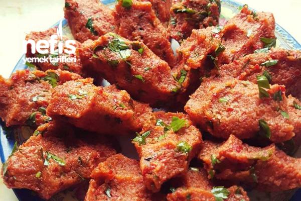 Bulgurlu Patates Köftesi (Hatay Yöresi)
