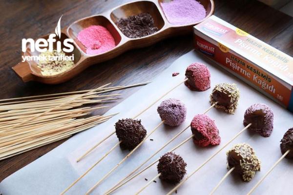 Çikolatalı Renkli Toplar Tarifi