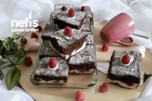 Frambuazlı Çikolatalı Cheseekek Tarifi