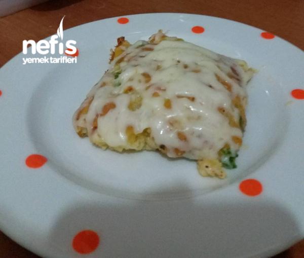 Sebzeli Kek ( Pizza Tadinda)