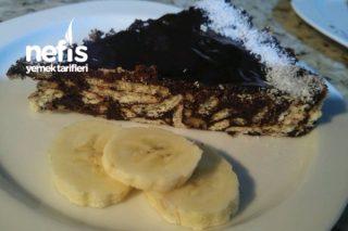 Çikolatalı Mozaik Pasta (15 Dakikada Hazır) Tarifi
