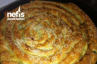 Ispanaklı Böreğim Tarifi