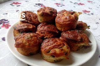 Kahvaltılık Lezzetli Muffin (Evde Bulunan Malzemelerle) Tarifi