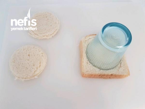 Tost Ekmeğinden Nutellalı Minik Ekmekcikler (basit Ve Harika Lezzette)(Kruvasan Tadında)
