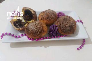 Tost Ekmeğinden Nutellalı Minik Ekmekcikler (Basit Ve Harika Lezzette)(Kruvasan Tadında) Tarifi