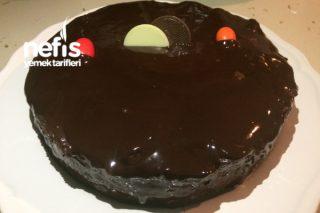 Çikolatalı Bisküvili En Kolay Yaş Pasta Tarifi
