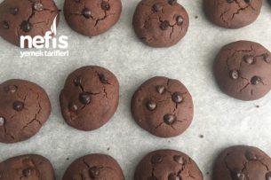 İçi Çikolatalı Kurabiye Tarifi